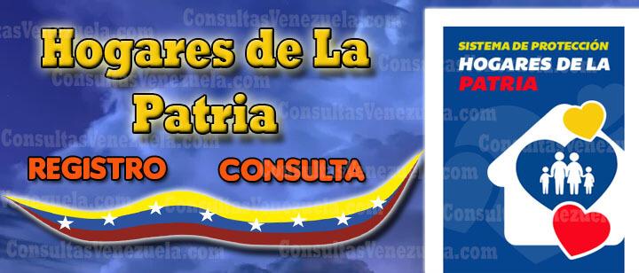 Misón Hogares de la Patria → Registro, Actualizar, Consulta, Cómo Recibir el Bono, Tarjeta y Listado 2020