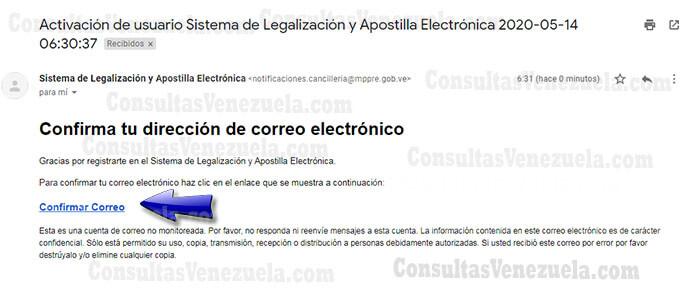 ¿Cómo registrarse en MPPRE para apostillar tus documentos? Nuevo Sistema paso 3