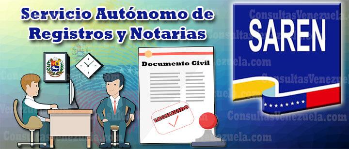 SAREN: Citas, Legalización de Documentos para Apostilla, Planilla PUB y más.