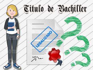 ¿Por qué se debe legalizar el Título de Bachiller?