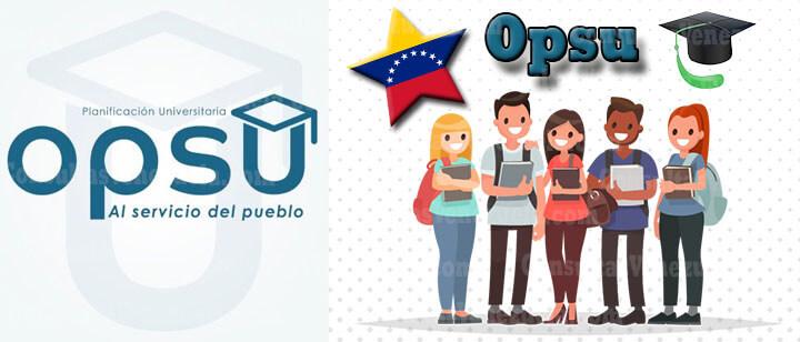 OPSU 2021: Ingeso, Registro, Beneficios, Prueba, Resultados, Índice Académico, Carreras y Certificado de Participación