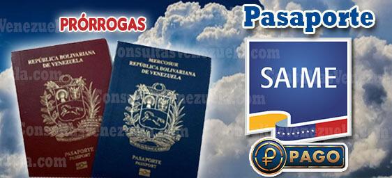 SAIME: Registro, Citas de pasaporte, Requisitos, Prórrogas, Pagos y más