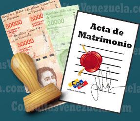 ¿Cuánto Cuesta Apostillar un Acta de Matrimonio Civil?