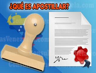 ¿Qué es Apostillar?