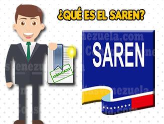 ¿Qué es el SAREN y Para qué Sirve?