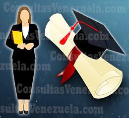 ¿Cómo legalizar título universitario Venezuela?