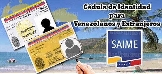 Cédula de Identidad venezolana