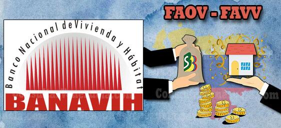 FAOV y FAVV: Registro en BANAVIH, Iniciar sesión en línea, Estado de Cuenta, Cotizaciones y Planilla de Pago