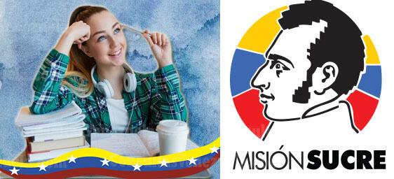 Misión Sucre: Inscripciones, Requisitos, Registro, Carreras y más