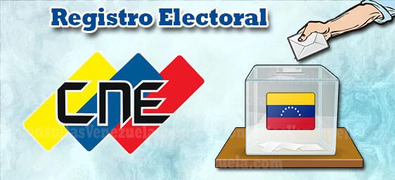 CNE Registro Electoral
