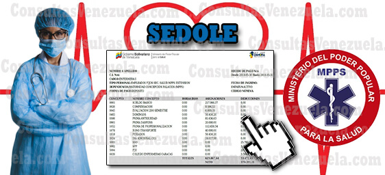 SEDOLE MPPS: Registro, Recibos de Pago, Constancia de Trabajo y Planilla ARC