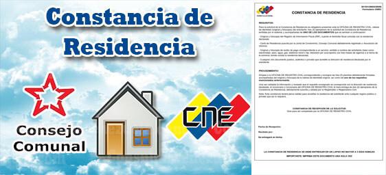 Constancia de Residencia CNE: Requisitos, Solicitud y Vigencia