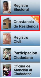 ¿Cómo solicitar una constancia de residencia del CNE por internet?
