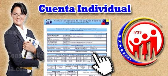 cuenta individual del IVSS