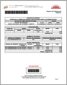 ¿Cómo obtener el Estado de Cuenta FAOV Banavih? Certificado de Solvencia Banavih