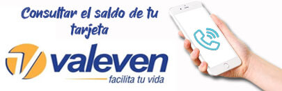 Llamar por teléfono para conocer tu saldo de Valeven