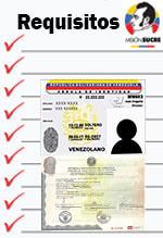 Requisitos para inscribirse en la Misión Sucre
