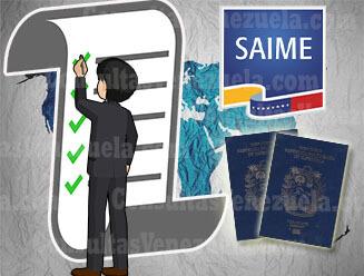 Requisitos para sacar o renovar el Pasaporte en Venezuela y en el Exterior