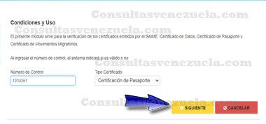 ¿Cómo Verificar el Pasaporte venezonalo en línea?