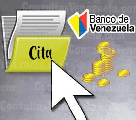 ¿Cómo solicitar una cita para pre apertura de cuenta del banco de Venezuela?