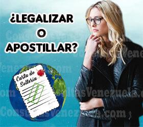 ¿Legalizar o Apostillar la carta de soltería?