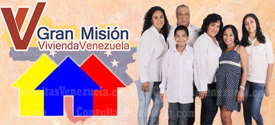 Gran Misión Vivienda Venezuela: Registro, Requisitos, Planilla, Consulta y Listados