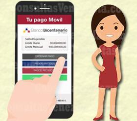 ¿Cómo transferir dinero con pago móvil del Banco Bicentenario?