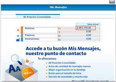 Aprende a consultar el Estado de cuenta por internet (Banco mercantil consulta de saldo)