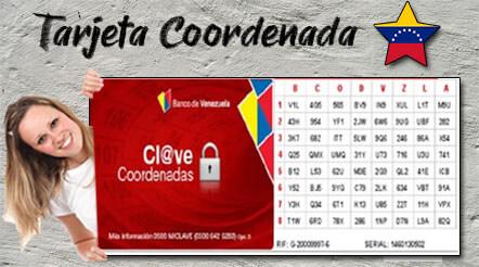 ¿Qué es y Para qué sirve la Tarjeta de coordenadas de Banco de Venezuela?