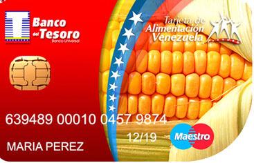 ¿Cómo obtener una tarjeta de alimentación del Banco del Tesoro?