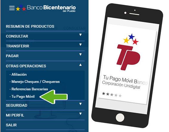 ¿Cómo afiliarse al Pago móvil del Banco Bicentenario?