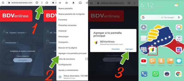 Aprende a Descargar BDV en línea aplicación