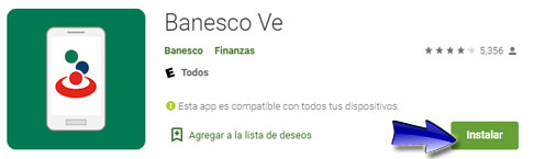Paso 2: Instalar Banesco VE