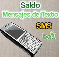 Consulta de saldo BOD por Mensaje de Texto (SMS)