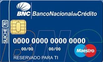 ¿Cómo solicitar la tarjeta débito del Banco Nacional de Crédito?