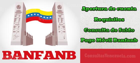 Banco BANFANB en Línea: Apertura de cuenta, Requisitos, Consulta de Saldo y Pago Móvil