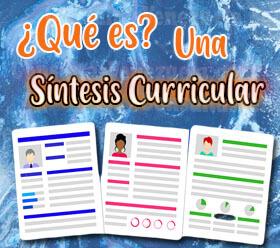 ¿Qué es una síntesis curricular?