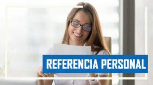 Características de una Referencia Personal
