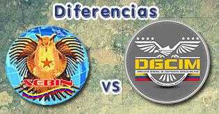 Diferencias entre el SEBIN y el DGCIM