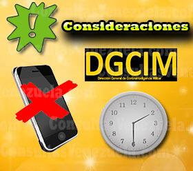 Consideraciones a tener en cuenta a la hora de ingresar a la escuela de la DGCIM