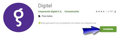 ¿Cómo descargar la app Digitel?