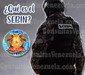 ¿Qué es el SEBIN?