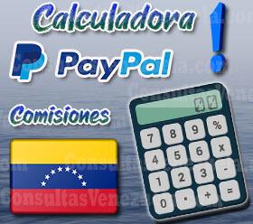Calculadora PayPal Venezuela