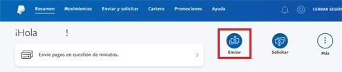 ¿Cómo enviar un pago por PayPal?