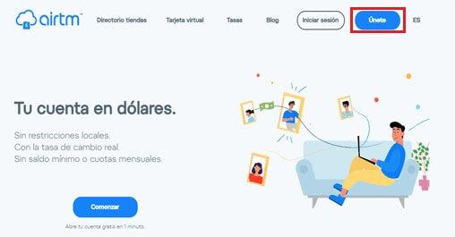 ¿Cómo abrir una cuenta AIRTM en Venezuela?