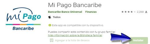 ¿Cómo descargar la aplicación Mi Pago Bancaribe?