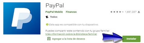 ¿Cómo descargar PayPal? (Aplicación Móvil)