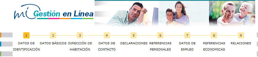 Preapertura de cuenta Bancaribe (Mi gestión en línea)