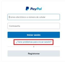 ¿Cómo recuperar la contraseña de PayPal?