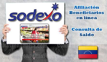 Sodexo Venezuela: Guía de Afiliación y Consulta de Saldo en línea